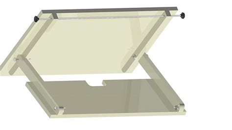 Wall Mounted Drafting Table Wallmounted Drafting Table On Behance