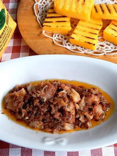 baccal bagnato polenta e baccal 224 alla veronese le mie ricette con e senza