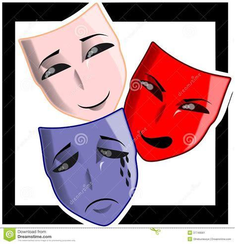 imagenes de mascaras mitologicas m 225 scaras del teatro imagen de archivo imagen 37749561