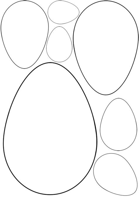 Easter Egg Shaped Card Template by Best 25 Egg Template Ideas On Easter Egg