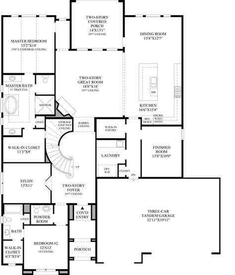 montgomery homes tuscany floor plan