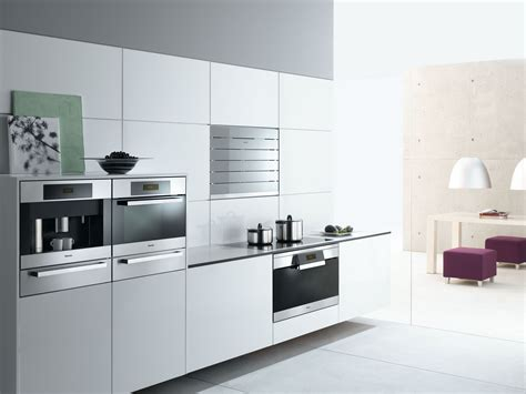 All White Kitchen Designs by Miele Household Appliances And Kitchen Appliances Status
