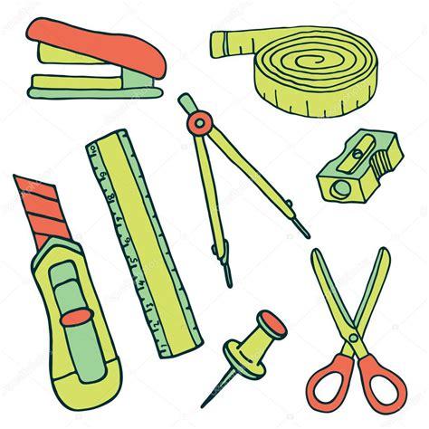 imagenes de papeleria y utiles escolares conjunto de dibujo elementos de papeler 237 a y 250 tiles