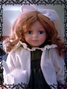 porcelain doll njsf njsf porcelain doll she measures 16 quot she comes with