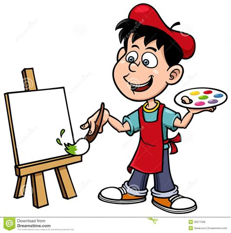picture illustration painter cliparts