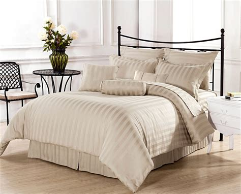 Beddings And Duvets Beige And White Bedding Products For Creating Warm And