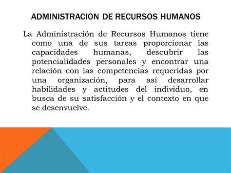 la administradora de recursos humanos ferroviarios es una generalidades de rrhh i unidad ppt video online descargar