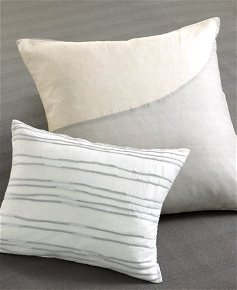 calvin klein bed pillows closeout calvin klein decorative pillows decorative