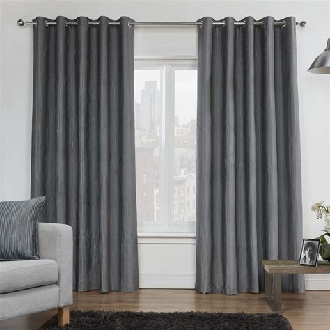 luxury silver curtains julian charles legacy silver luxury lined eyelet curtains