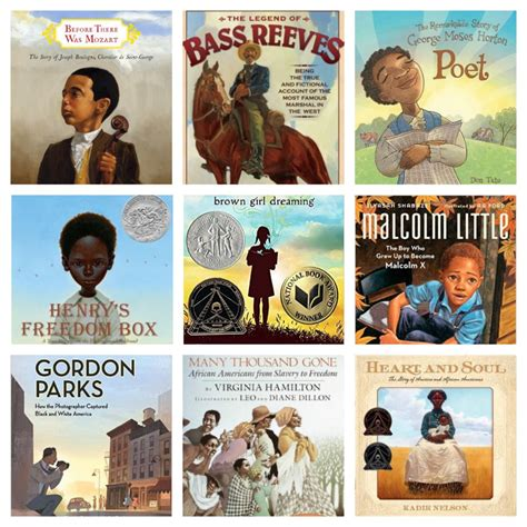 list of biography books for 5th grade african american history books for 5th graders non