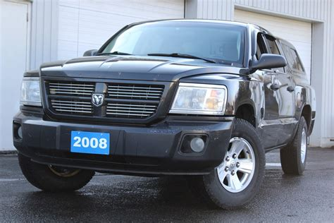 dodge 4 7 v8 pre owned 2008 dodge dakota sxt as is 4 7l v8 4x4 crew