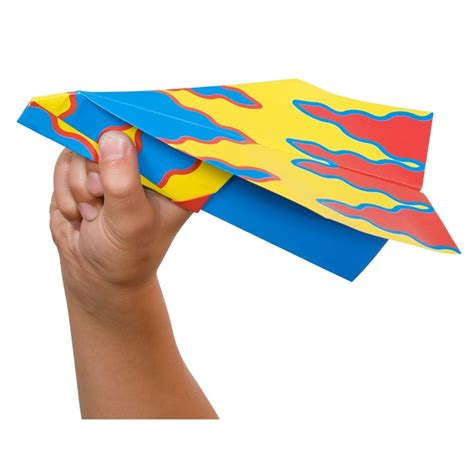 Fold N Fly Paper Airplanes - fold n fly paper airplanes craft kit educational toys planet