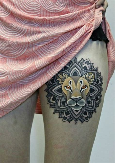 thigh tattoo designs for women 101 thigh ideas and designs for