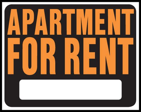 Www Appartment For Rent by Apartment For Rent Signs Clipart