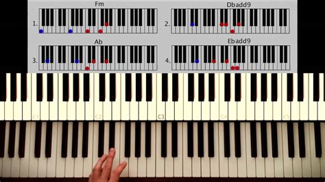 tutorial piano john legend all of me how to play all of me john legend part 1 intro verse