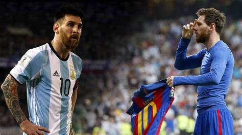 Argentina Fc Lionel Messi Keeping His Teams Alive 2016 2017 Carrying