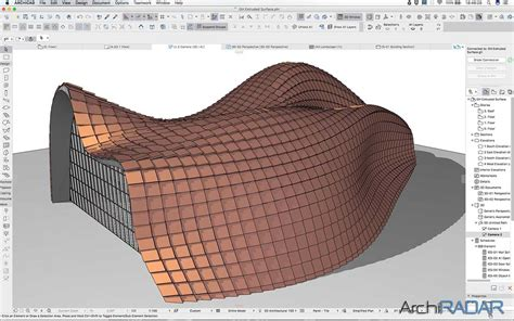 3d Home Design Free Online extruded surface and paneling in bim