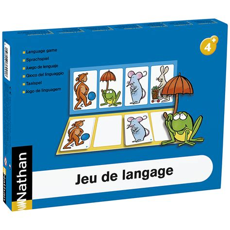 language de jeu de langage ateliers de langage nathan mat 233 riel