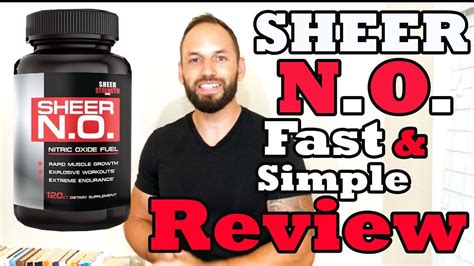 n o supplement reviews sheer n o nitric oxide booster supplement review