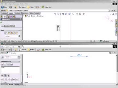 solidworks tutorial revolve solidworks 2011 tutorial revolve and sweep part 1 by