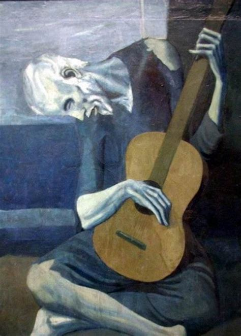 artist biography pablo picasso one artist a day pablo picasso monochromatic painting
