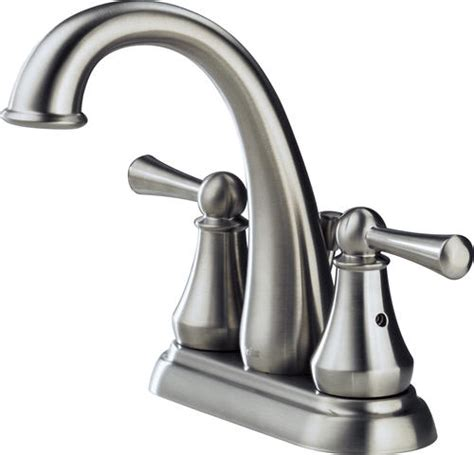 kitchen sink faucets menards delta 174 lewiston 174 4 in 2 handle high arc bathroom sink faucet at menards 174