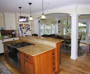 Kitchen Island Remodel by Kitchen Remodeling New England Remodeling Solutions