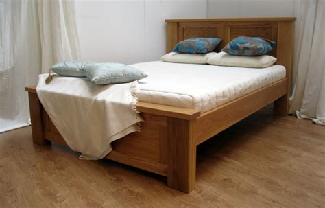 Handmade Oak Beds - bed frames wooden bed frames uk wood floor