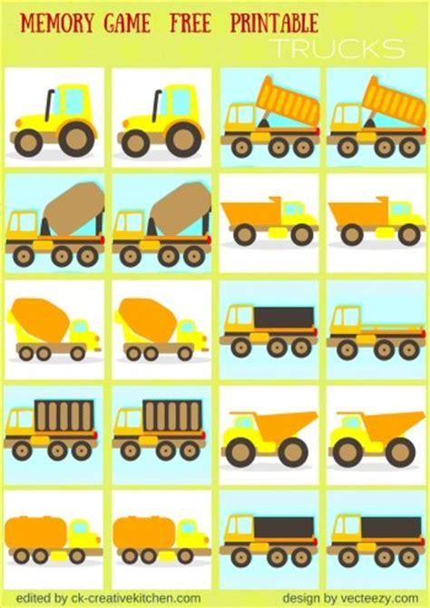 printable memory games for kindergarten traffic memory game free printables preschool baby
