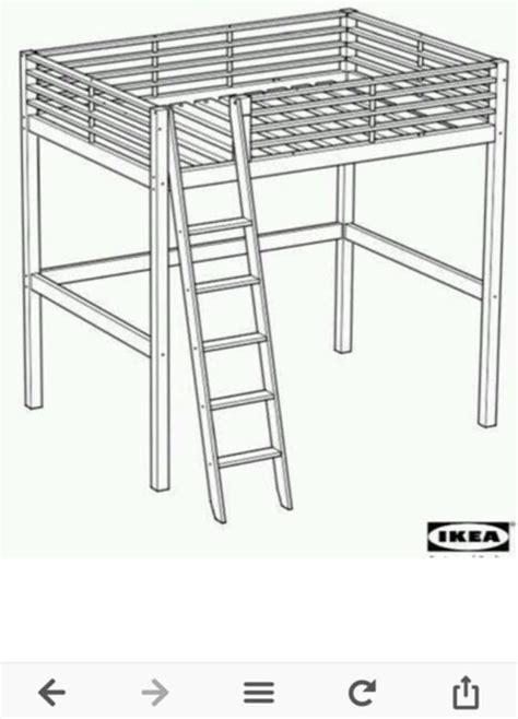 Ikea Hochbett Aus Metall by Etagenbett Ikea Aus Metall Hochbett 140x200 In Aying