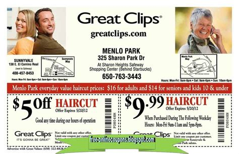 haircut coupons redmond wa printable coupons 2018 great clips coupons