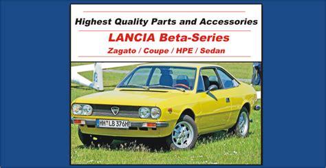 lancia beta parts lancia beta parts midwest bayless italian auto