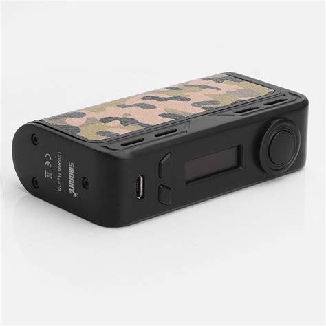Smoant Charon 218w Tc Box Mod Vape Authentic authentic smoant charon 218w tc vw camo variable wattage box mod