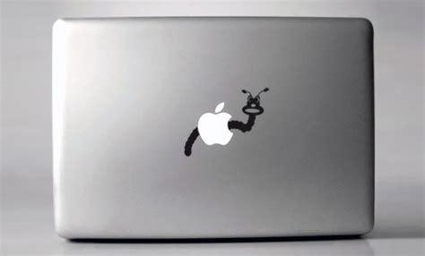 Macbook Aufkleber Scrat by 25 Cool And Creative Macbook Stickers Bored Panda