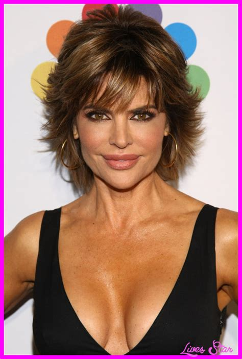 hairdresser for lisa rinna lisa rinna short hairstyle livesstar com