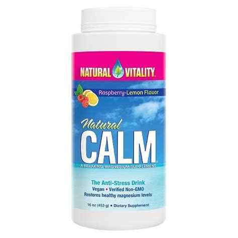 Garden Of Magnesium Powder Vitality Calm Anti Stress Magnes Target