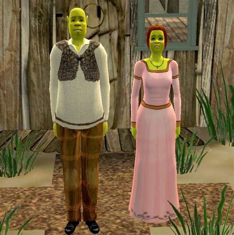Gamis Fiona mod the sims sims based on shrek and fiona ogres from shrek 1 2 3