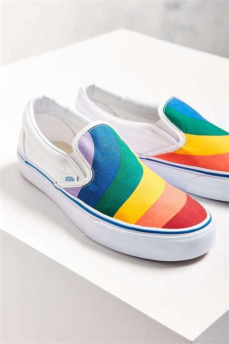Shoes Rainbow rainbow vans shoes www pixshark images galleries