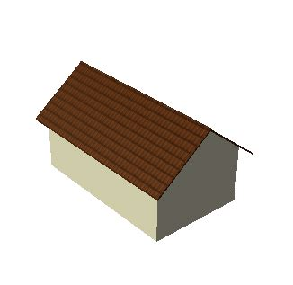 Gable Roof Shape Simple Roof Shapes