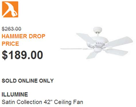 the home depot canada hammer drop deal of the day
