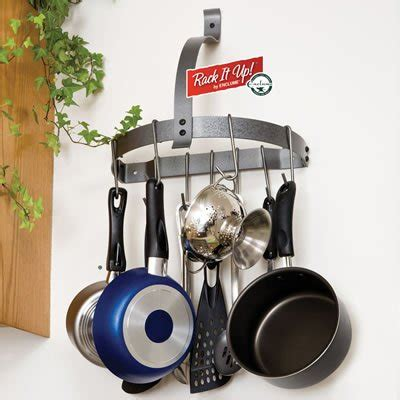 Small Pot Rack Decorative Wall Mounted Pot Rack For Kitchen Webnuggetz
