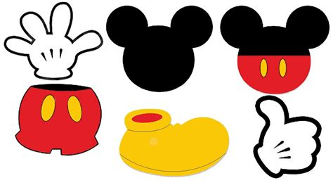 Mickey Template by Mickey Mouse Template Madinbelgrade