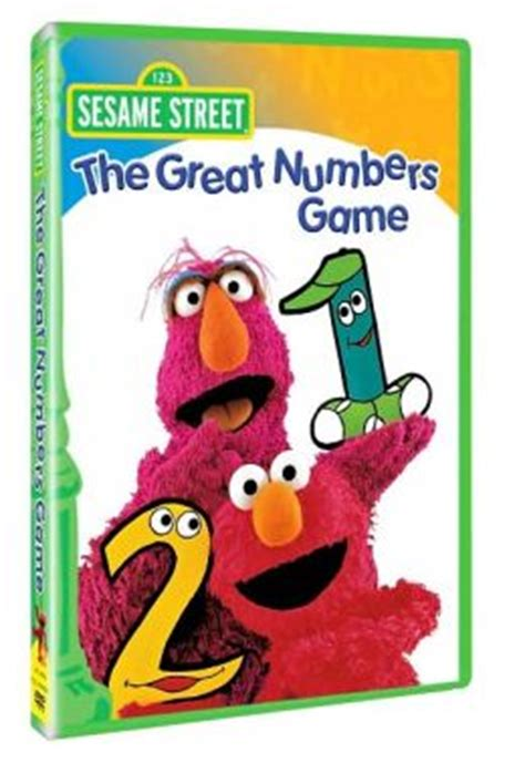 Free Barnes And Noble Gift Card Number - sesame street the great numbers game by sesame street 74644936599 dvd barnes