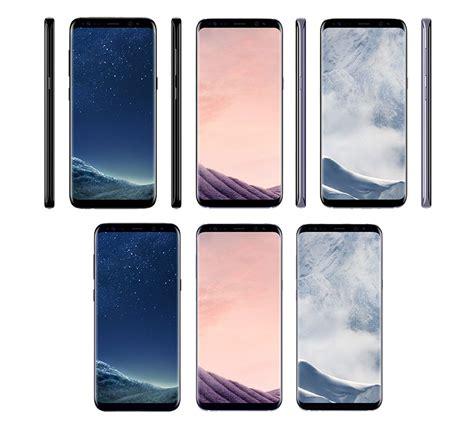 Samsung S8 samsung galaxy s8 und s8 neue fotos den farben der