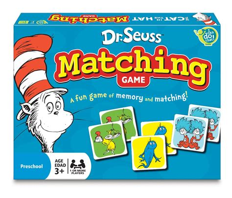 Promo Match It Memory dr seuss matching only 4 99 become a coupon