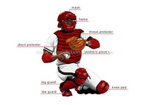 Johnny Bench Baseball Player - sports amp games ball sports baseball catcher image visual dictionary online