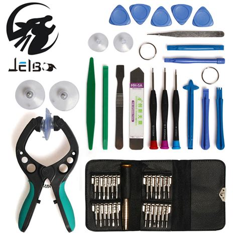 25 In 1 Mobile Phone Repair Tool Kit Set Opening For Iphone Htc B jelbo 20 25 46in1 screwdriver set 1pc suction cup for mobile phone repair tool kit pry opening