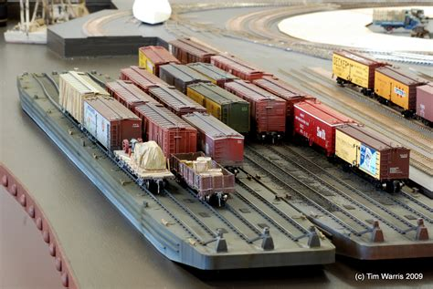 better ho two carfloats are better than one model railroad