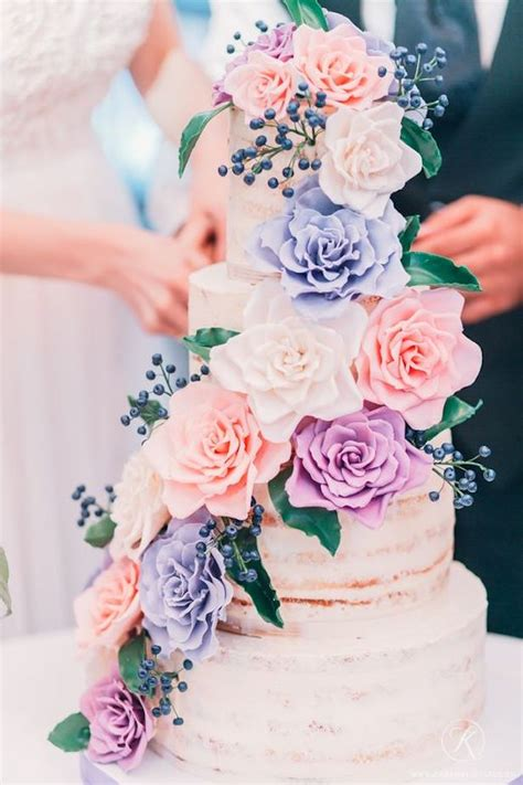 Wedding Cake Floral by Best Wedding Cakes Of 2016 The Magazine