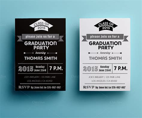 invitation cards templates for graduation graduation card templates 10 free printable word pdf